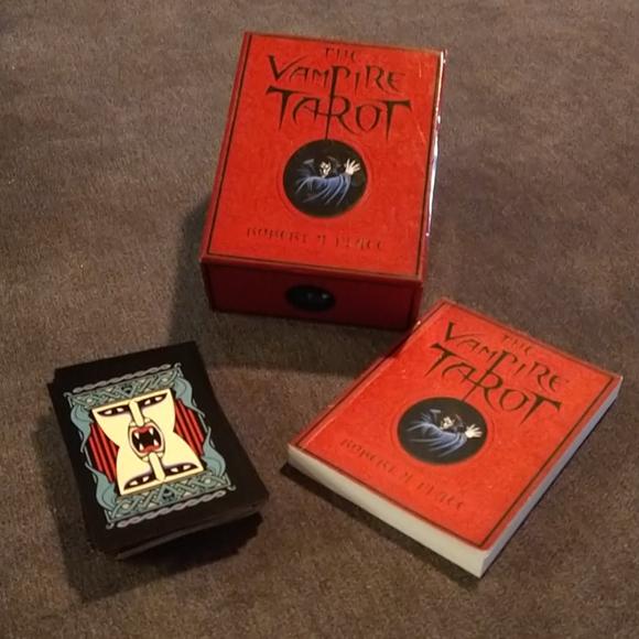 The Vampire Tarot by Robert M. Place